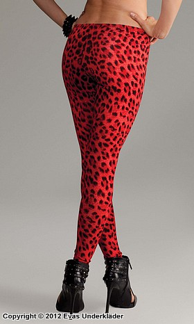 Leopardmönstrade leggings, 2